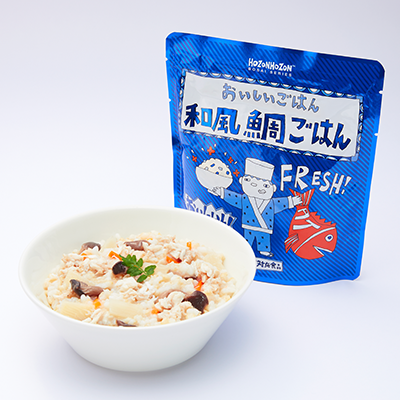 おいしいごはん 和風鯛ごはん(25食セット)