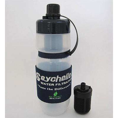 セイシェル社 携帯用浄水ボトル 「サバイバルプラス」 (交換用フィルター付き)