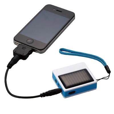 スマホ対応ソーラー充電器