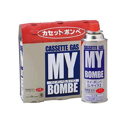 マイコンロ専用ボンベ・マイボンベL 3P(N)16パック(48本)/ケース