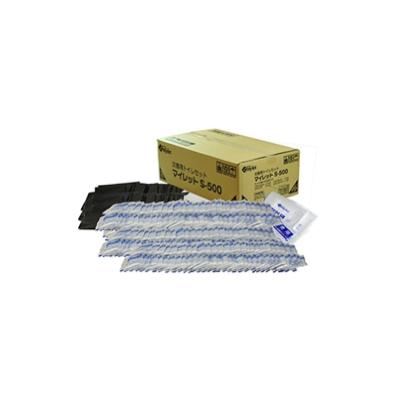 マイレットS-500 災害用トイレセット(500回分) -企業・自治会備蓄向け簡易トイレ処理セット-