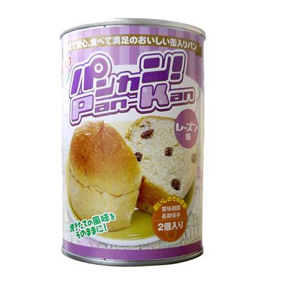 パンの缶詰 パンカン! レーズン味(24缶入)【軽減税率対応商品】