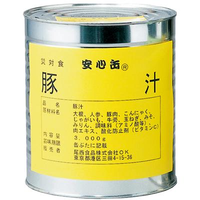 豚汁6缶セット【軽減税率対応商品】