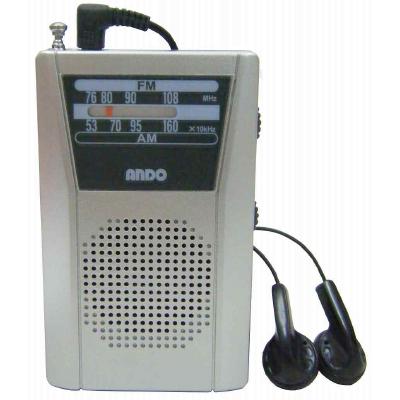 携帯型かんたんラジオ