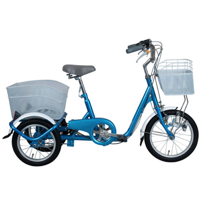 SWING CHARLIE ロータイプ三輪自転車 ブルー