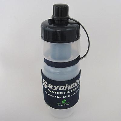 セイシェル社 携帯用浄水ボトル 「サバイバルプラス」