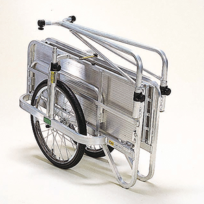 アルミ製 折りたたみ式リヤカー コンパック HC-906N