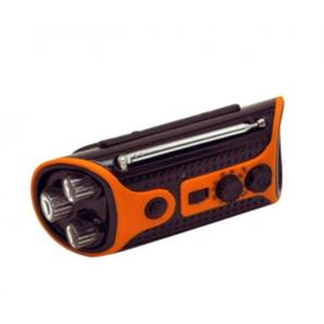 ハンドクランクラジオ